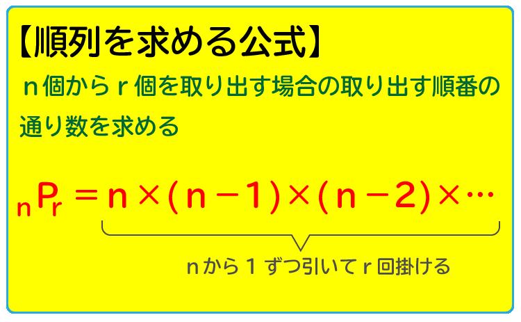 SPI順列を求める公式